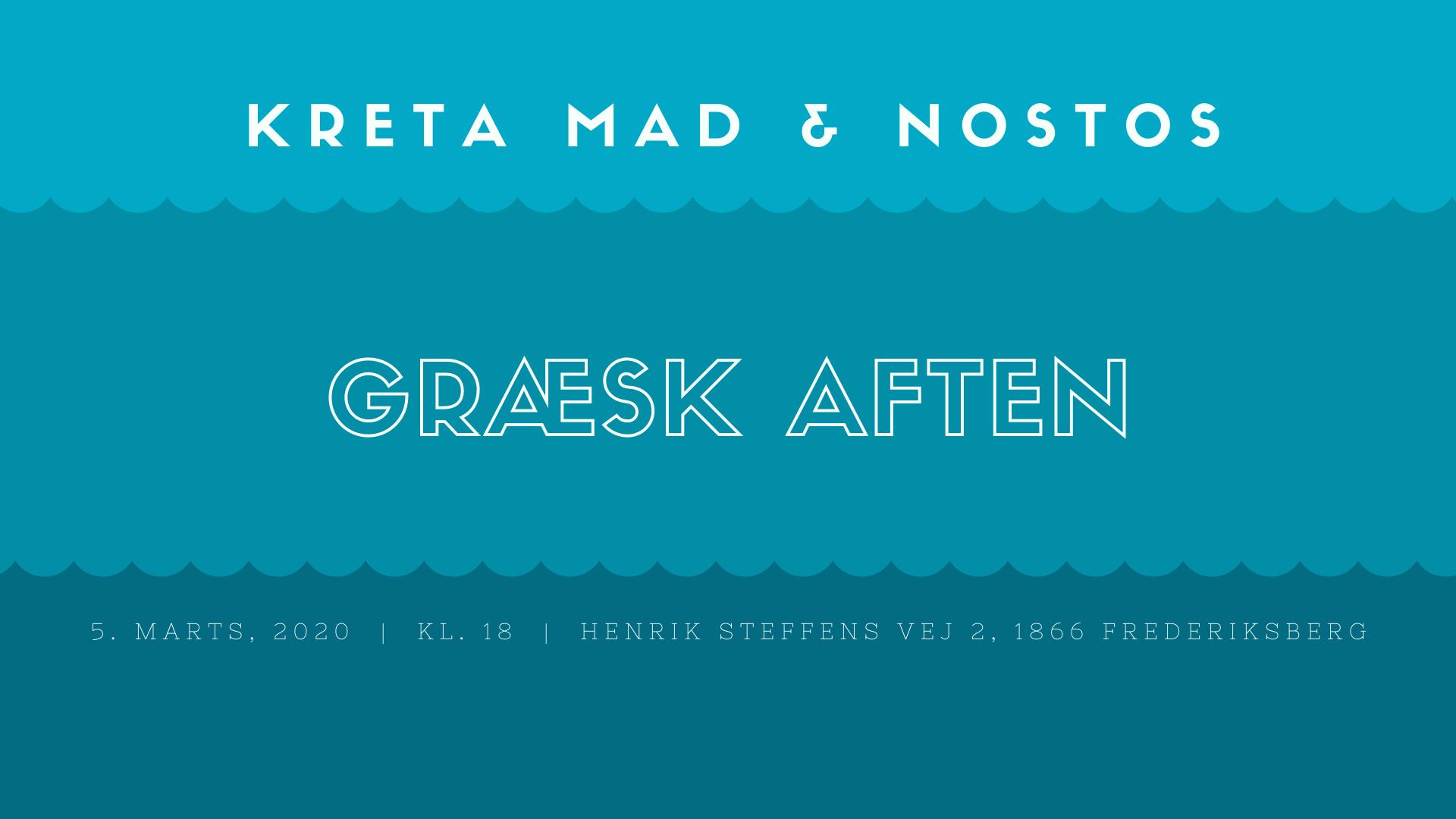 Image of   Græsk buffet & olivenolie foredrag