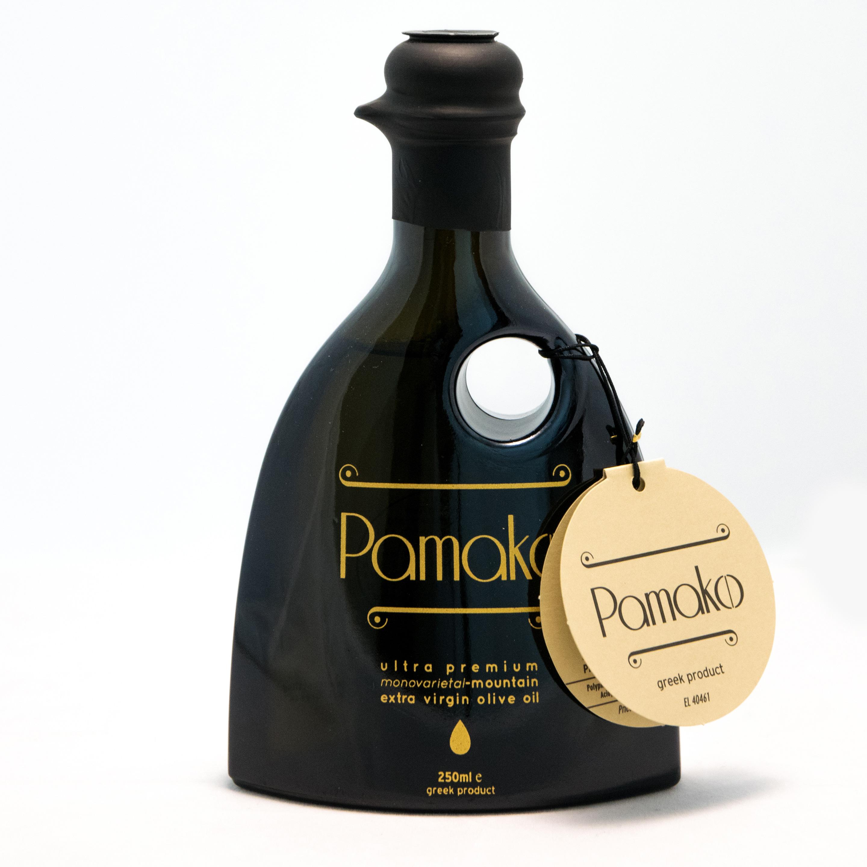 Image of   Pamako Monovarietal Olivenolie Øko. 250 ml