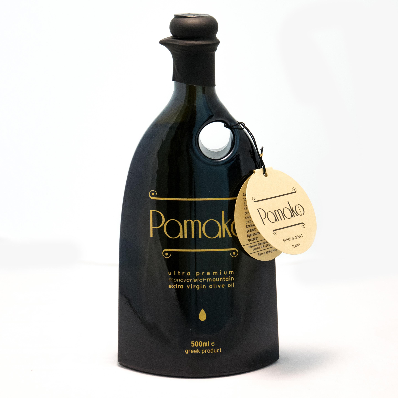 Image of   Pamako Monovarietal Olivenolie Øko. 500 ml