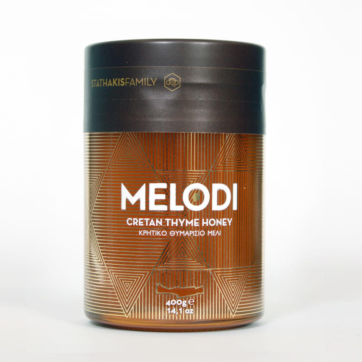 Image of   Stathakis MELODI Timian honning fra Kreta 400 gr.