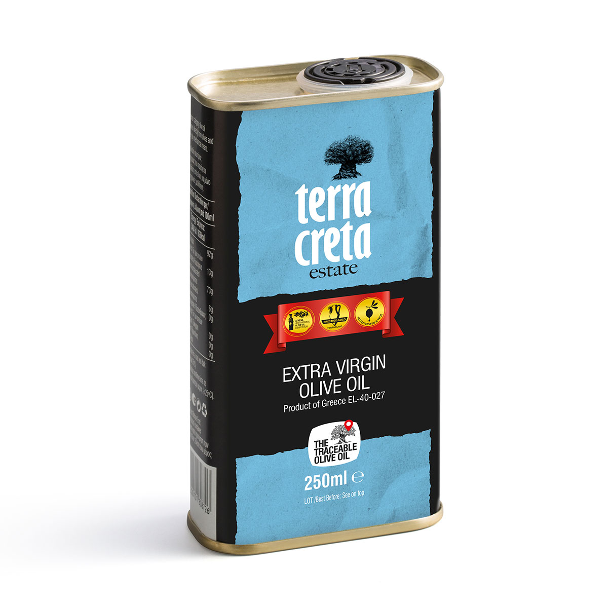 Image of   Terra Creta Estate Olivenolie 250 ml Dåse