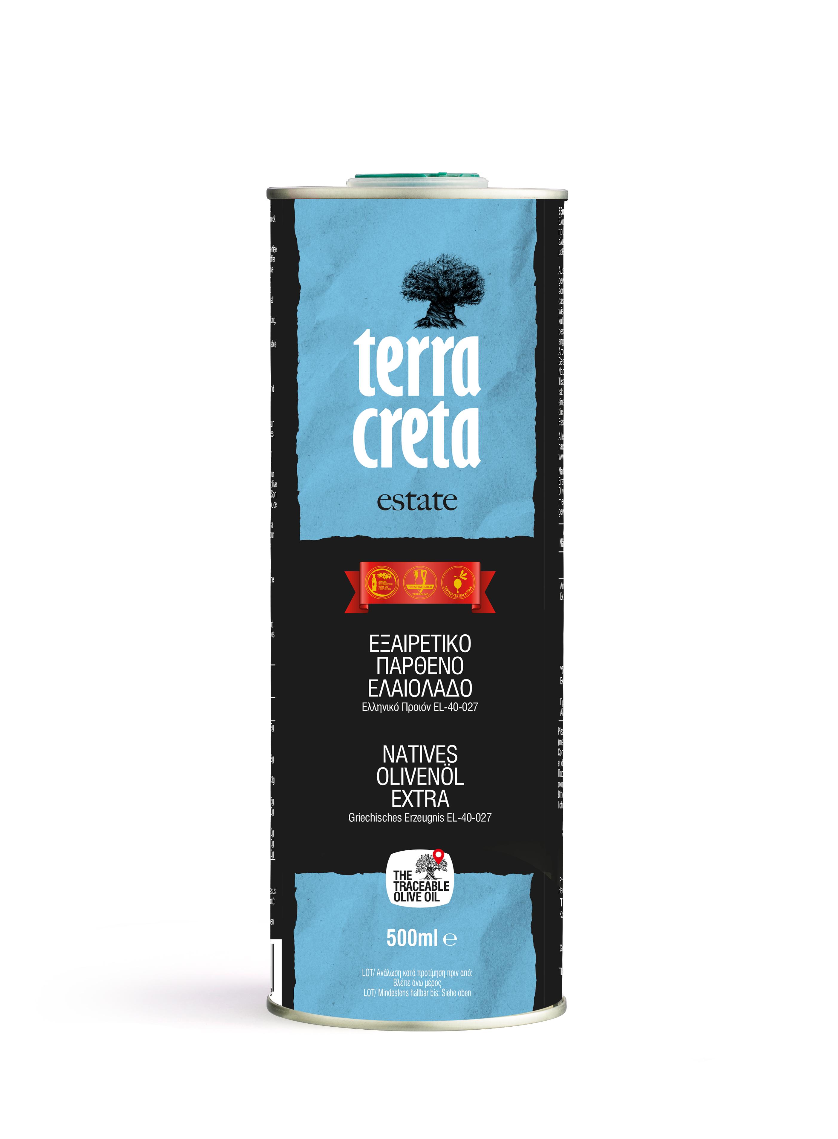 Terra Creta olivenolie fra Kreta Mad