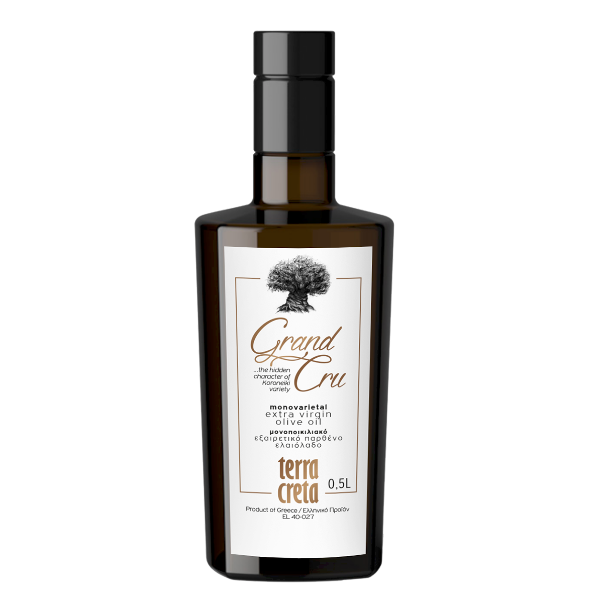 Image of   Terra Creta Grand Cru olivenolie 500 ml