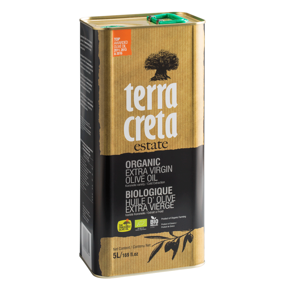 Image of   Terra Creta Olivenolie Økologisk 5 L