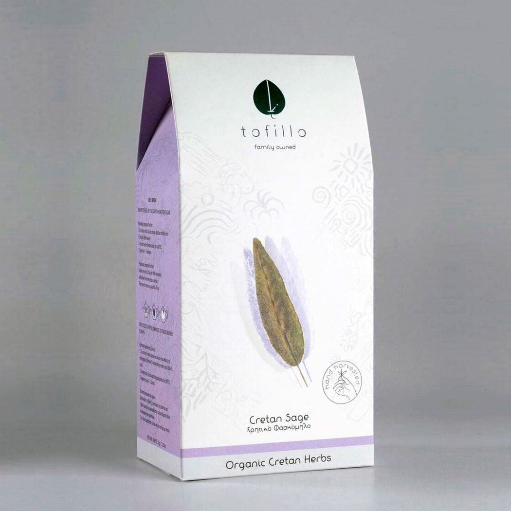 Image of   Tofillo Cretan Sage, Økologisk urtete